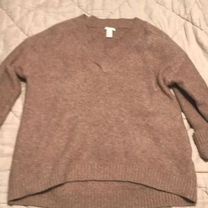 Oversized sweater size large from HM